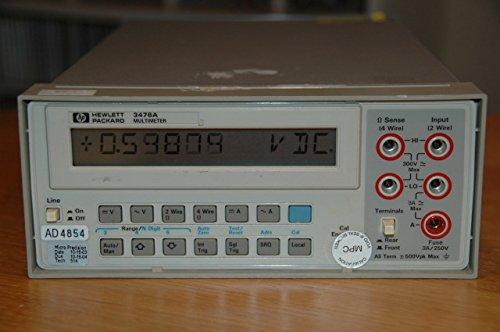 HP Hewlett Packard 3478A Multimeter T48165