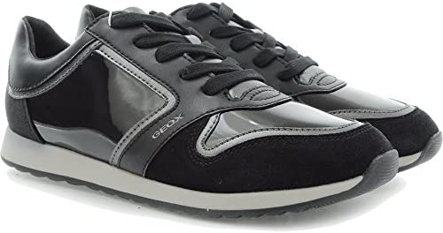 Geox Damesschoenen Sneakers Comfortabele en comfortabele D Deynna A zwart D746FA0054C9999