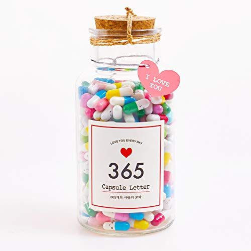 Letter Cute Love Pills Perfect Gift 52 Pcs Capsules Mini Pills Message Capsule o