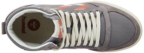Women's Frost Hummel Sl Sneakers Grey Herringbone Top Hi Stadil Grey High pq6w7S