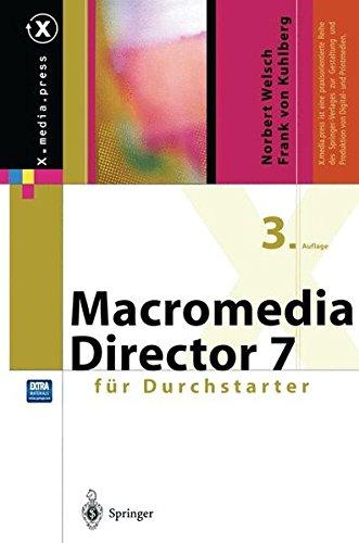 Macromedia Director für Durchstarter (X.media.press)