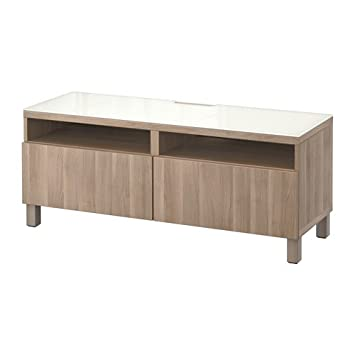 Amazon.com: Unidad de IKEA TV con cajones, lappviken Nogal ...