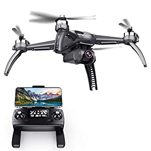 Flashandfocus.com 418LBW1YzeL._SS300_ SANROCK B5W GPS Drones with 4K UHD Camera for Adults Kids Beginners, Quadcopter with Brushless Motor, 5GHz FPV…