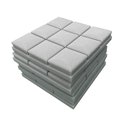 Wall Sticker 4Pcs Acoustic Foam Panel Sound Stop Absorption Sponge Studio KTV Soundproof Removable