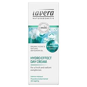 Lavera Hydro Effect Crème de jour aux algues bio et à l'huile d'Abyssinie naturelle pour un teint frais et éclatant…