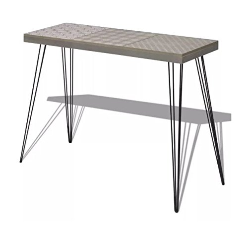 Console Table MDF Strong Steel Pin Legs ComfyLeads