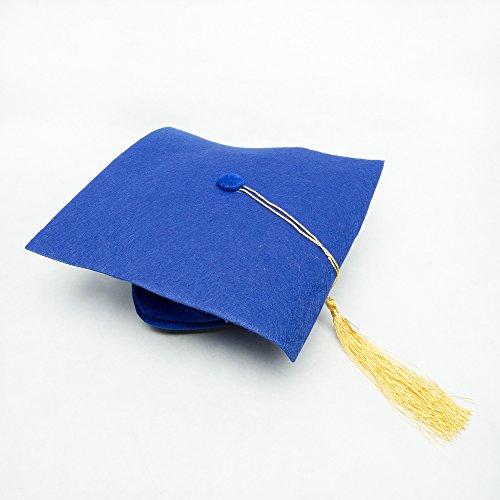 Century Novelty Blue Felt Kindergarten Grad Cap
