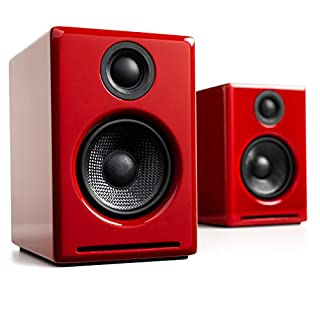 Audioengine A2+ Wireless 60W Powered Desktop Speakers | Built-in 24Bit DAC & Amplifier | Bluetooth aptX Codec, Direct USB Connection, 3.5mm and RCA Phono inputs | Cables Included (B07P5PTP32) | Amazon price tracker / tracking, Amazon price history charts, Amazon price watches, Amazon price drop alerts