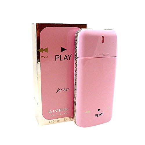 (Play by Givenchy for Women, Eau de Parfum Spray, 1.7 Ounce)