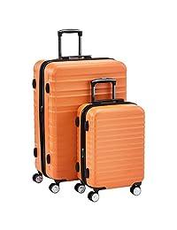 """AmazonBasics 2-Piece Set (20"""", 28""""), Orange"""