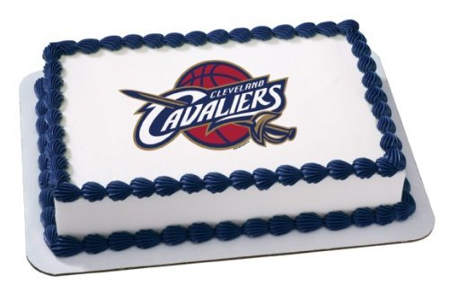 NBA Cleveland Cavaliers~ Edible Cake Image Topper by (Nba Cake)