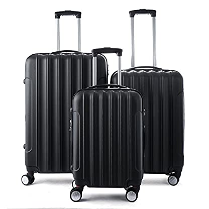 Beibye – Maleta de viaje con ruedas (65 x 48 x 29 cm)