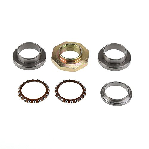 Steering Rod Bearing Ring Kit Set for Yamaha PW50 PW 50 1981 - 2009 Dirt Pit (Steering Bearing Set)