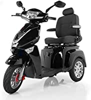 Veloce-Long Range, Lithium Mobility Scooter, New for Summer 2020~! (Black)