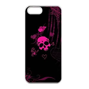 Welcome!Iphone 5/5S Cases-Brand New Design Funny Skull Printed High Quality TPU For Iphone 5/5S 4 Inch -03 by mcsharks