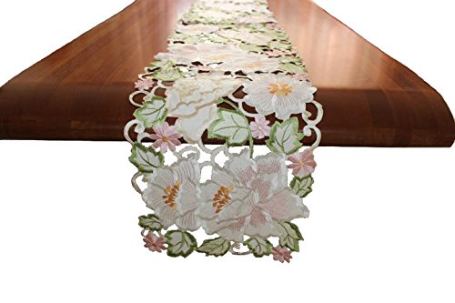 EcoSol Designs Flowery Table Runner (13