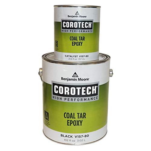 (Gallon 2-Part Flat Black Coal Tar Epoxy )