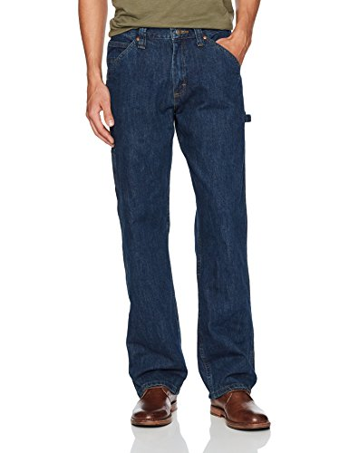 LEE Men's Dungarees Losse-Fit Carpenter Jean - 36W x 32L - Dark - Men Pants Lee For