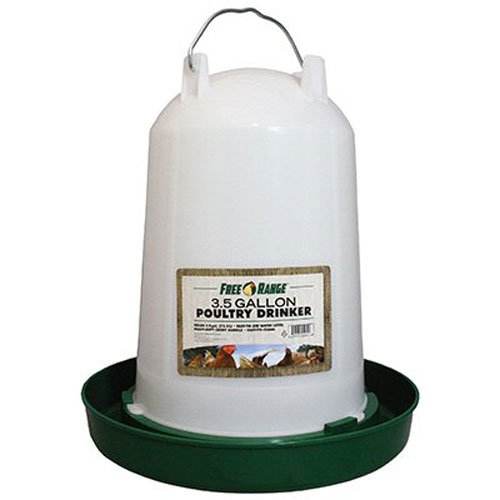 Harris Farms Plastic Poultry Drinker, 3.5 Gallon