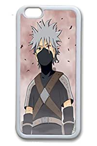iPhone 6/6S Case,White,TPU(Soft plastic)Case For iPhone 6/6(be customized)Ultra Slim Case,Latest style Case[4.7 In]Ultra-thin Case Easy To Operate-Naruto Anime 44