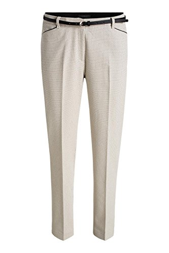 ESPRIT Collection Mit Stretch - Pantalones Mujer Gris Claro
