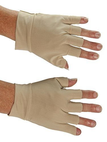 EasyComforts Ivory Support Gloves by EasyComforts (Image #1)