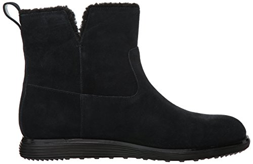 Cole Haan Womens OG Motogrand Bootie Black Suede tecugY7dy