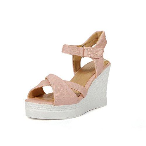 Maahan Naisten Diu00840 Yritys Vaaleanpunainen sandaalit Alustoilla Sandaalit Ylimitoitettu Uretaani Alustoja P1arqxn1