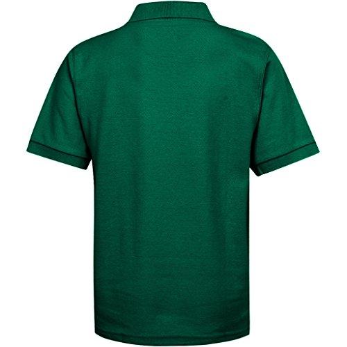 Boys Uniform Polo Shirt Kelly Green XXS 3/4