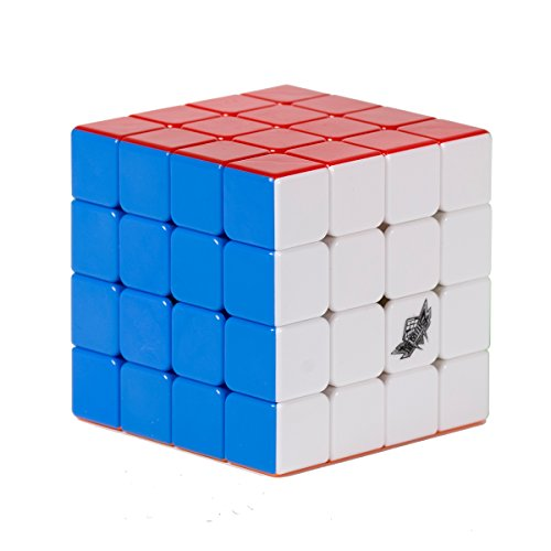 LGSAN Brainstorming The best gift with 4x4 Puzzle Cube High-speed rotation Never fade/Full!