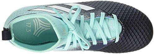 adidas Mädchen Ace Tango 17.3 Tf J Fußballschuhe Mehrfarbig (Energy Aqua /ftwr White/legend Ink )