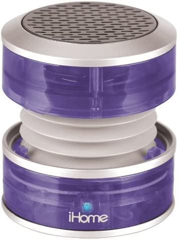 iHome Portable Speaker Purple Translucent