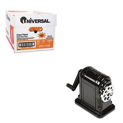 KITEPI1001UNV21200 - Value Kit - X-acto Table-Mount/Wall-Mount Manual Pencil Sharpener (EPI1001) and Universal Copy Paper (UNV21200)