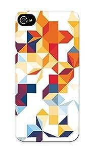 Freshmilk Fashion Protective Segments Case Cover For Iphone 5/5s