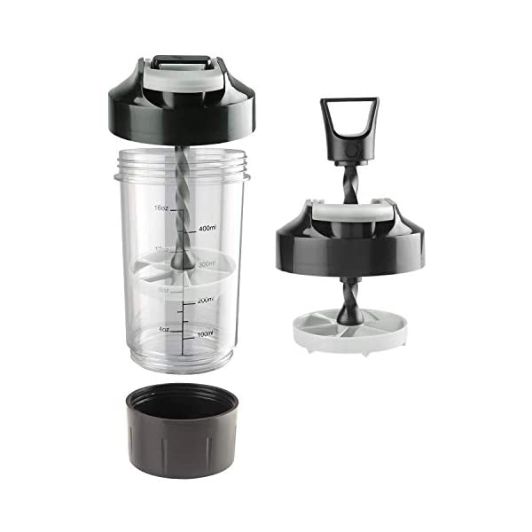 Totza Living Cyclone Protein Shaker Bottle for Gym 2021 August Sleek and Durable Shaker Bottle for mixing protein shakes, smoothies, and supplements lump-free Round bottom design with no corners for easy cleaning Wide mouth makes it easy to add mix scoops and liquids