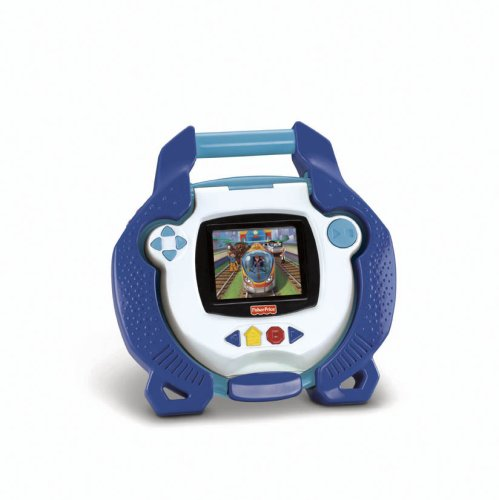 amazoncom fisher price kid tough portable dvd player blue toys games