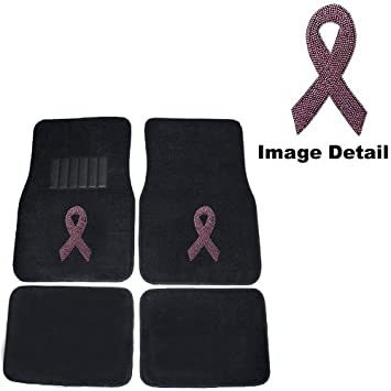 Amazon Com Pink Ribbon Breast Cancer Awareness Logo Gem Crystal