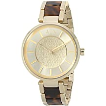 Armani Exchange Street Gold-tone Dial Ladies Watch AX5320