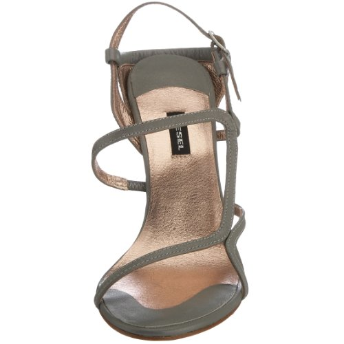 Women's You Grey Diesel 10 Silver Sandal Truelove M Loving 4 US Made I88dqS