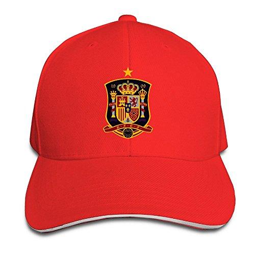 MaNeg Spain Soccer Team Sandwich Peaked Hat & - Costa Wholesale Del Mar