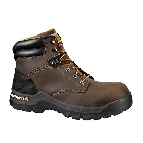 Carhartt Women's Rugged Flex 6 Inch Comp Toe CWF5355 Work Boot, Brown, 10 M US