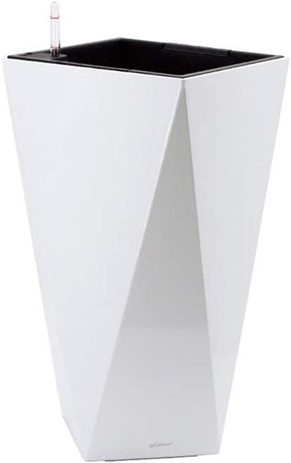 QFFL ライナー付き61 cm高フラワーポット、自家製の伝統的な丸型プランターポット屋内/屋外の庭の植木鉢プランター(1パック) 鉢 (色 : 3, サイズ さいず : M)