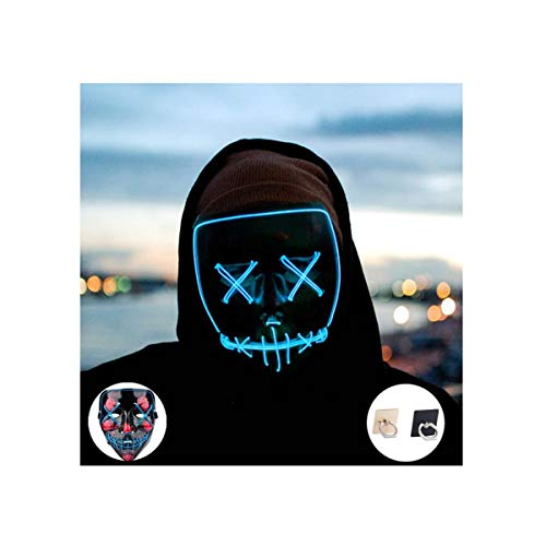 Light up Mask Led Mask Halloween Mask Led