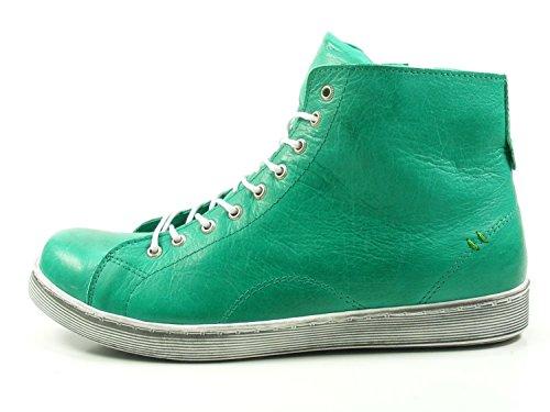 de Verde Cuero Conti Andrea Zapatos 0341500 para Mujer TxWtq7U