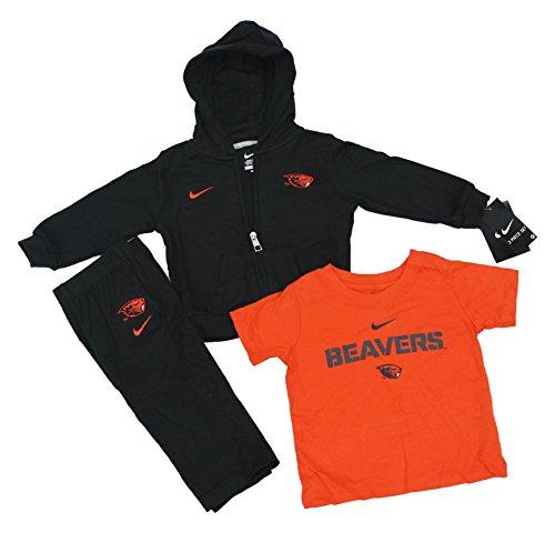 Nike NCAA Boy's Oregon State Beavers 3 Piece Sweatsuit Set ()