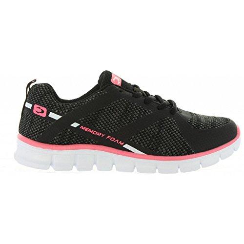 Zapatillas deporte de Mujer JOHN SMITH RULEN NEGRO
