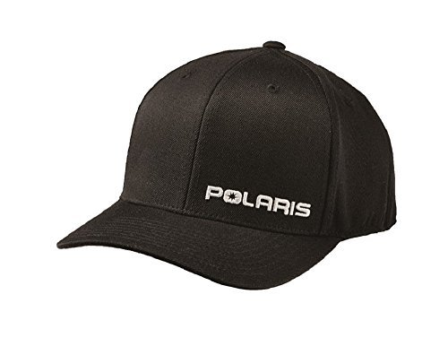 Polaris Mens Black Core Cap (Polaris Baseball Hat)