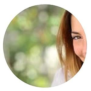 alfombrilla de ratón Mujer hermosa con una sonrisa perfecta blanquee - ronda - 20cm
