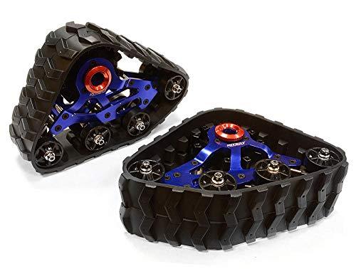 Integy RC Model Hop-ups C26089BLUE Front Snowmobile & Sandmobile Conversion for Axial SCX-10