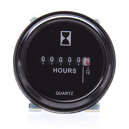 SUCAN Medidor de hora redondo para carro Barco Tractor Generador ...